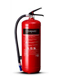 Pulverslukker 6 kg 55A 233B C Housegard Rød