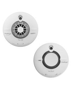 Paket med temperaturvarnare och brandvarnare FireAngel Wi-Safe2